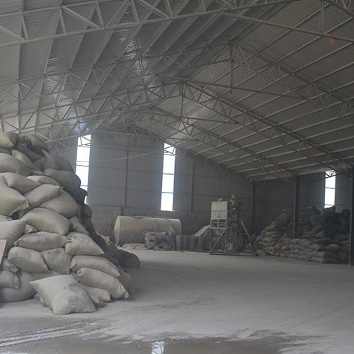 杨木木粉厂房