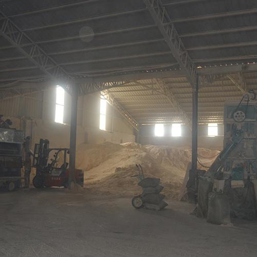 造纸粉厂房